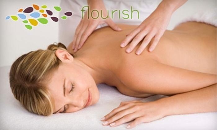 Flourish - San Anselmo: $45 for 60-Minute Deep-Tissue or Swedish Massage at Flourish in San Anselmo (Up to $240 Value)