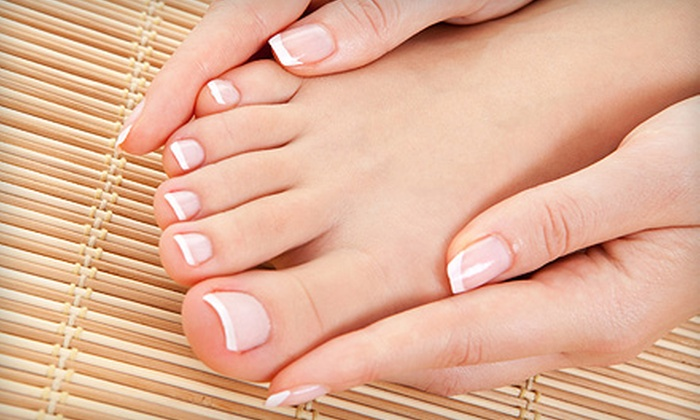 Cypress Beauty & Co. - Multiple Locations: $25 for a Mani-Pedi at Cypress Beauty & Co. ($50 Value)