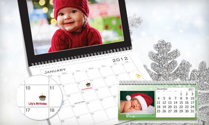 Vistaprint: One or Two Custom-Printed Calendars or $17 for $70 Worth of Custom Paper Goods from Vistaprint
