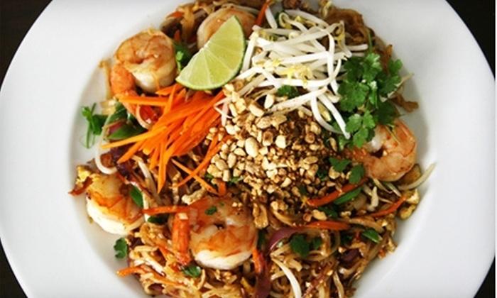 Thai Basil Restaurant - Greenwich: $15 for $30 of Thai Cusine and Drinks at Thai Basil Restaurant in Greenwich