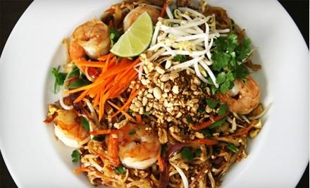 $30 Groupon to Thai Basil Restaurant - Thai Basil Restaurant in Greenwich