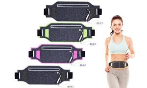 1, 2 ou 4 pochettes ceintures pour le sport avec sortie écouteurs