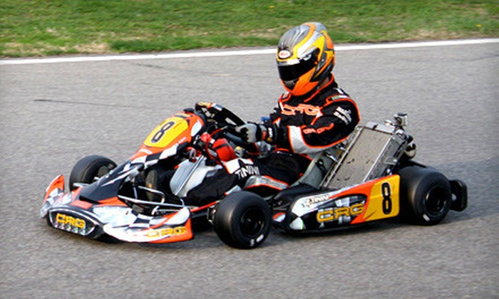 The RaceLab - Greg Moore Raceway: $109 for a Beginner's Race-Kart-Driving Experience with 20 Laps and Equipment at The RaceLab in Chilliwack ($218 Value)