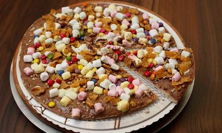 Schoko-Pizza, Schoko-Fondue oder Belgische Waffeln inkl. Heißgetränk in der Sam Brown Chocolate Bar (bis zu 52% sparen*)