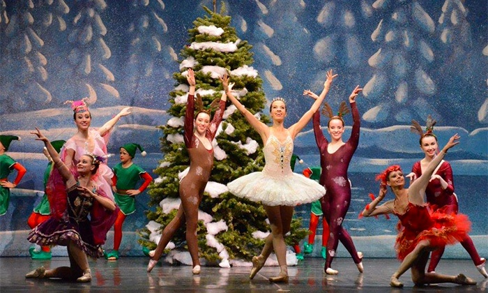 """""""A Holiday Special"""" Presented By Ballet Concerto - Will Rogers Auditorium: """"A Holiday Special"""" Presented By Ballet Concerto on Friday, December 11, at 10:30 a.m., 12:30 p.m., or 7 p.m."""