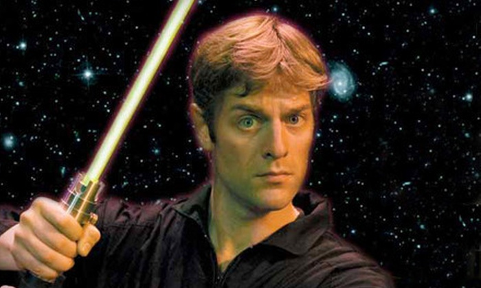 """One Man Star Wars Trilogy - Theater District - Times Square: $29 for One Ticket to """"One Man Star Wars Trilogy"""" at Midtown Theater ($59 Value). 17 Showtimes Available."""