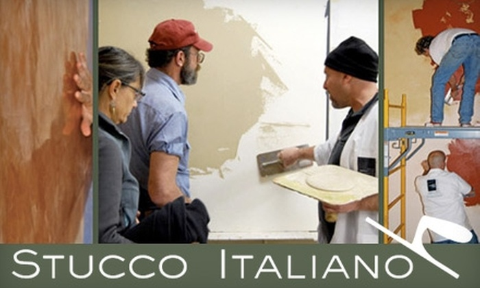 Stucco Italiano - Georgetown: $65 for a Hands-On Introduction to Authentic Venetian Plaster Workshop at Stucco Italiano