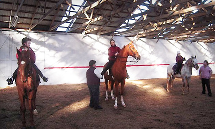 Fairfield South - Richmond: Two or Four Horseback-Riding Lessons at Fairfield South in Richmond (Up to 58% Off)