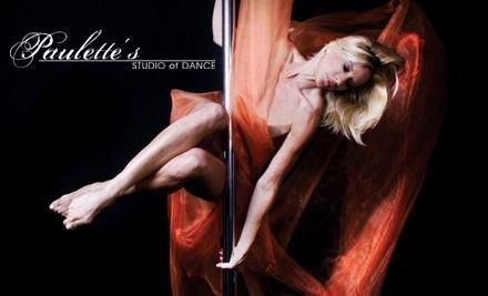 Paulette's Studio of Dance: 3 Pole Dance Fitness Classes - Paulette's Studio of Dance in Toledo