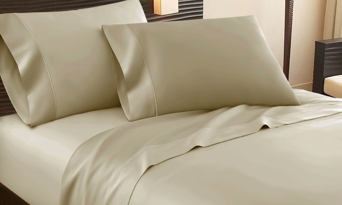 1,000 Thread Count Egyptian Cottonu2013Rich Addy Home Sheet Set ...