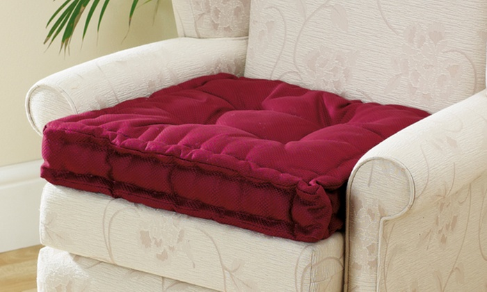 armchair booster cushion groupon goods. Black Bedroom Furniture Sets. Home Design Ideas