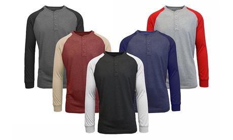 Men's Henley Raglan Long-Sleeve Tee 74e6e08e-dc47-11e7-838f-002590604002
