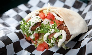 Papa Ganouj: Mediterranean Cuisine for Lunch or Dinner for Two or More at Papa Ganouj (Up to 54% Off)