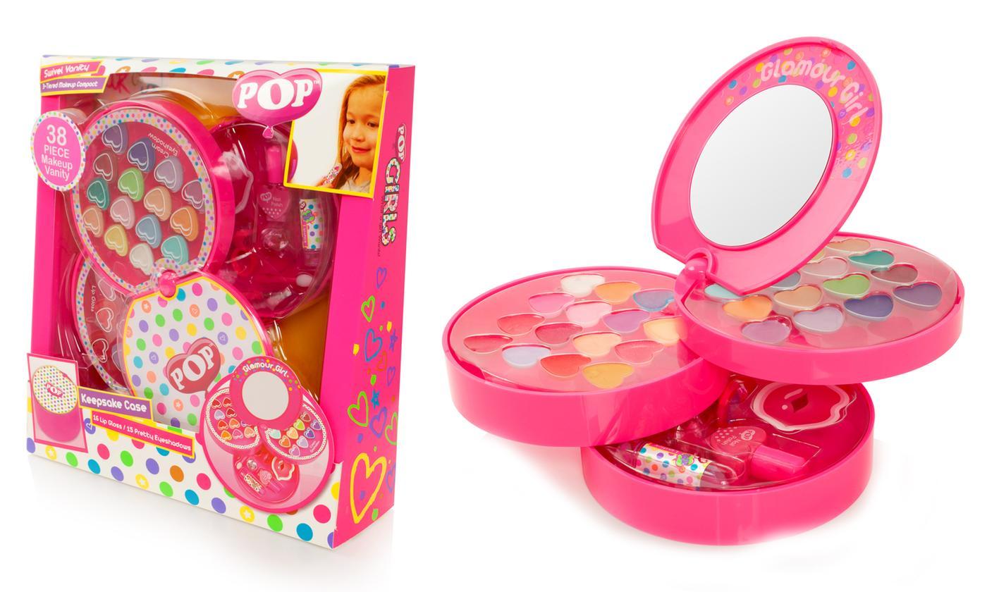 Pop Girls Three-Tier Makeup Compact