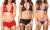 Leg Avenue Body Chain Lace Lingerie Sets: Leg Avenue Body Chain Lace Lingerie Sets