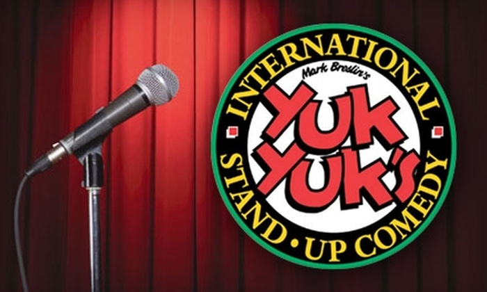Yuk Yuk's - Belvedere: $9 for Admission to a Comedy Show at Yuk Yuk's at the Century Casino ($19 Value)