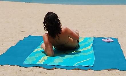 1 o 2 Teli da mare anti sabbia disponibili in 2 colori