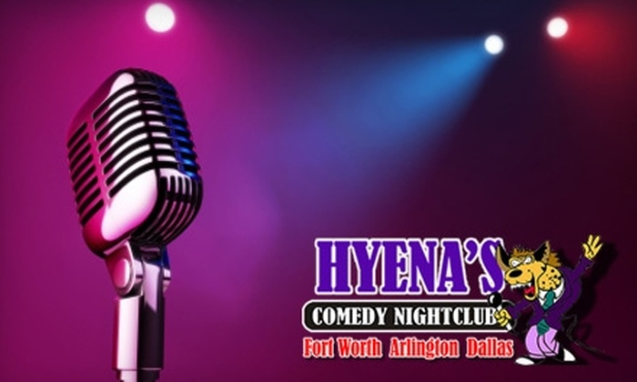 Hyena's Comedy Nightclub - Multiple Locations: $8 for Two Tickets to Hyena's Comedy Nightclub ($20 Value)