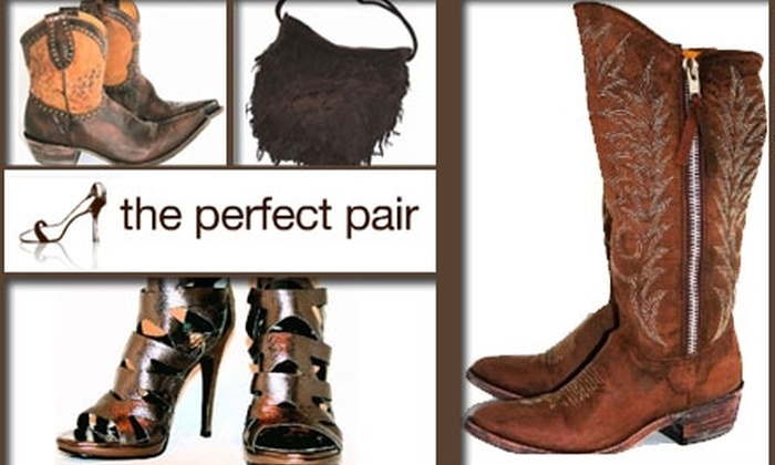 the perfect pair - Green Hills: $50 for $125 Worth of Footwear, Purses, and Accessories at the perfect pair