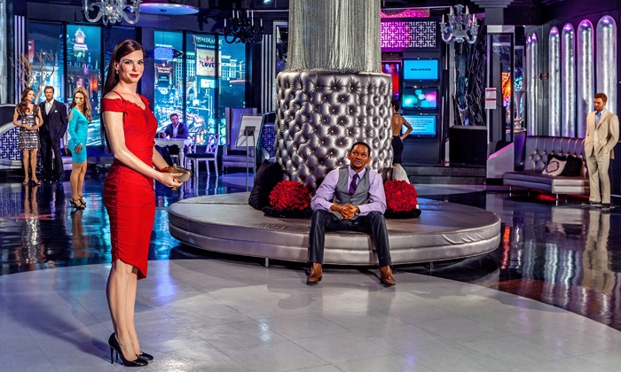 Madame Tussauds Las Vegas - The Strip: General Admission for One with Non-Alcoholic Slushy to Madame Tussauds Las Vegas (51% Off)