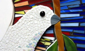 Glassy Alley Art Studio & Gallery: Glass-Mosaic Class for One or Two at Glassy Alley Art Studio & Gallery (Up to 56% Off)