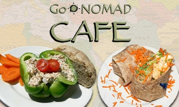 GoNOMAD Cafe - Deerfield: $5 for $10 Worth of Sandwiches and More at GoNomad Cafe