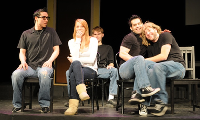 Made Up Theatre - Grimmer: $10 for Two Improv Comedy Tickets and One Popcorn at Made Up Theatre In Fremont ($21 Value)