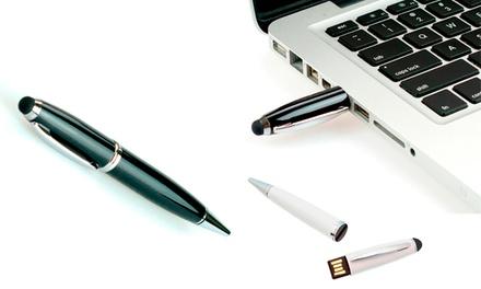 Caneta stylus com USB de 8 GB por 16,90€