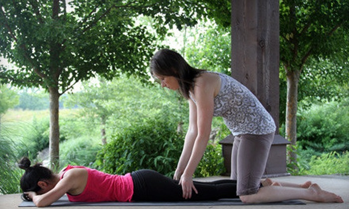 Element Yoga and Health Studio - Fourth Ward: $169 for Three Private 50-Minute Yoga Lessons at Element Yoga and Health Studio ($405 Value)