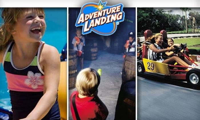Adventure Landing - Dallas - Far North Dallas: $17 for Five Admissions to Four Adventure Landing Attractions ($35 Value)