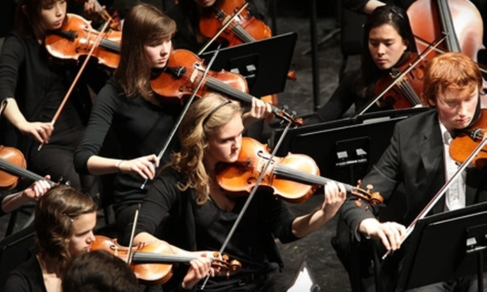 Anchorage Youth Symphony - Anchorage: $19 for Two Adult Tickets to the Anchorage Youth Symphony ($38.50 Value)