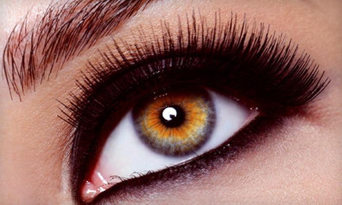 Salon de Beaute' - Oklahoma City: Salon Package or Mink Eyelash Extensions at Salon de Beaute' in Norman (Half Off)