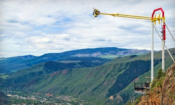 Glenwood Caverns Adventure Park - Glenwood Springs: $85 for Four One-Day Passes to Glenwood Caverns Adventure Park in Glenwood Springs (Up to $168 Value)
