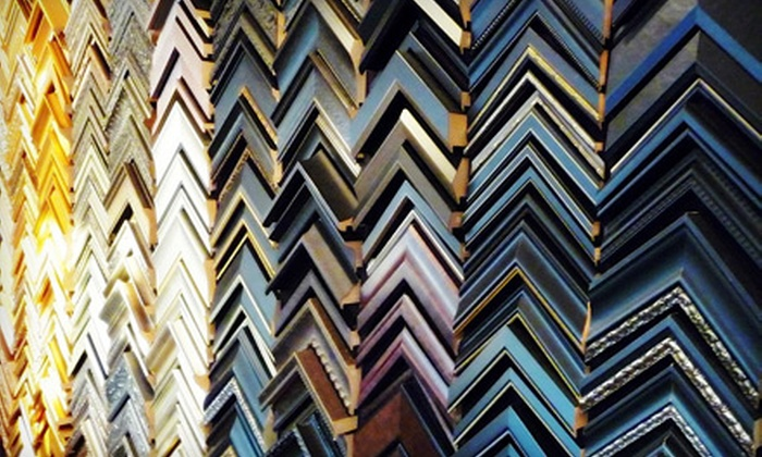 Fast Frame - Omaha: $49 for $120 Worth of Framing Services at Fast Frame on Audrey Street