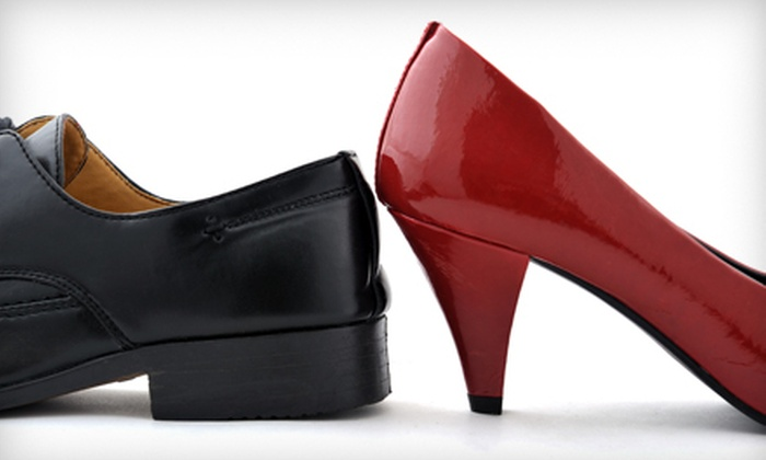 Elegant Cleaners USA - Country Walk: Shoe-Repair Services for Pickup or Delivery at Elegant Cleaners USA (Half Off). Three Options Available.