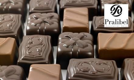 Un ballotin de chocolat de 250g, 375g, 500g, 750g ou 1kg, dès 8,90 € chez Pralibel Chocolatier Belge