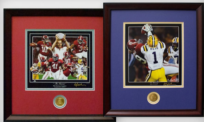 Framed College Football Art - Norwood: $25 for $50 Worth of Merchandise from Framed College Football Art
