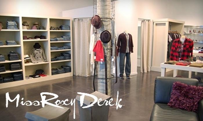 null - Northwest Side: $45 for $100 of Clothing, Accessories, and Shoes at Miss Roxy Derek