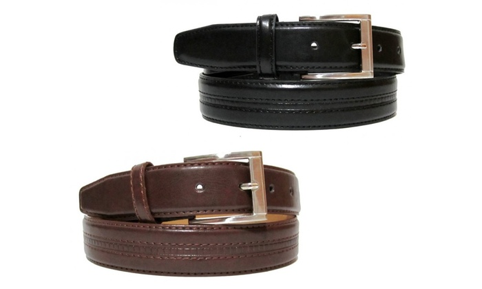 Polo Leather Belts (2-Pack)