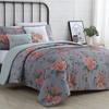 Printed Floral Reversible Comforter Set (4- or 5-Piece)