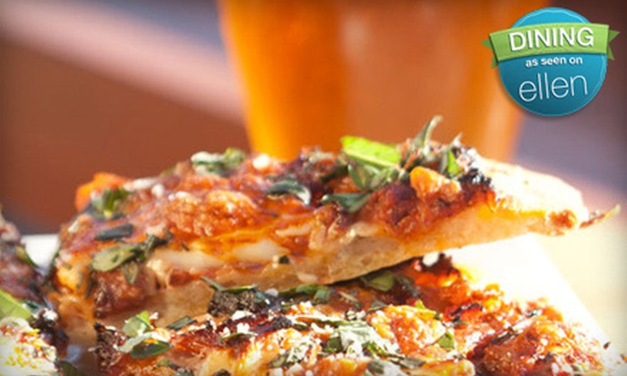 Lido Waterfront Bistro - Victoria: Two Pizzas and Two Drinks or Private Party at Lido Waterfront Bistro (Up to $50 Off)