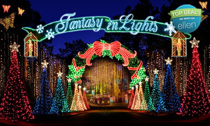 Fantasy In Lights at Callaway Gardens - Pine Mountain: Holiday-Lights-Show Outing for Two or Four to Fantasy In Lights at Callaway Gardens in Pine Mountain (Up to 55% Off)