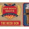 The Beer Den Boot-Shaped Shot Glasses (6-Pack)