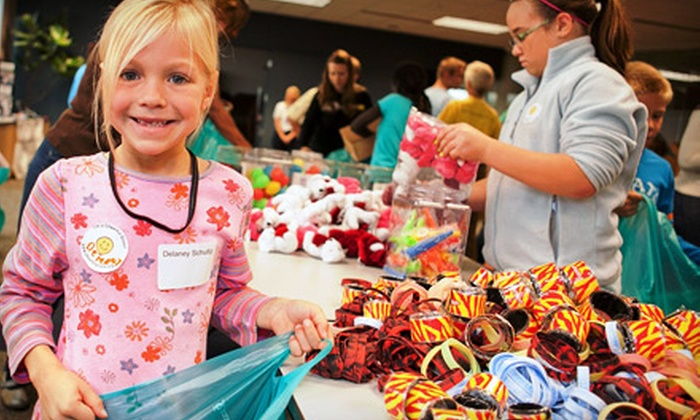 Cheerful Givers: If 50 People Donate $10, Then Cheerful Givers Can Purchase Birthday Gift Bags for 50 Children Living in Poverty