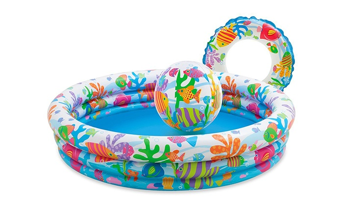 Piscine intex per bimbi groupon goods for Pesci finti per piscina