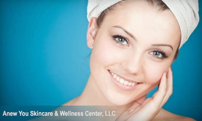 Anew You Skincare & Wellness Center - Hartford: $35 for a Signature Facial ($80 Value) or $70 for a Peel and Midrodermabrasion ($155 Value) at Anew You Skincare & Wellness Center