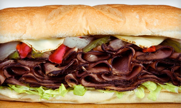 Al Attles' California Cheese Steaks - Elmhurst Park: Two or Four Cheesesteak Meals at Al Attles' California Cheese Steaks in San Leandro (Up to 57% Off)