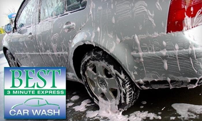 Best Express Car Wash - Highlands Douglass: Good, Better, or Best Wash from Best Express Car Wash