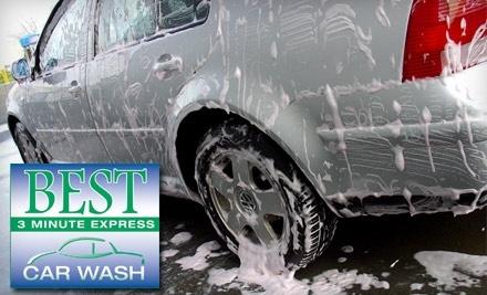 Best Express Car Wash: Better Wash - Best Express Car Wash in Louisville