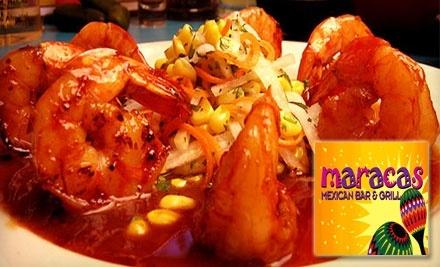 $20 Groupon to Senorita Margaritas Maracas Mexican Bar & Grill - Senorita Margaritas Maracas Mexican Bar & Grill in New York